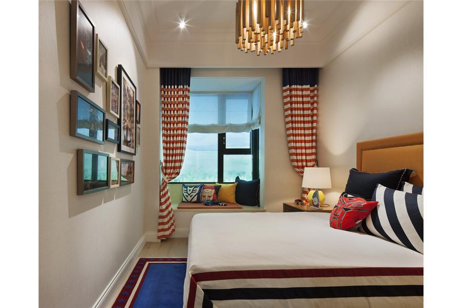 三居 白领 旧房改造 收纳 80后 小资 舒适 温馨 高富帅 儿童房图片来自fy1831303388在彩叠园新中式的分享