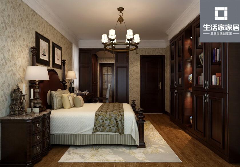 现代美式 品质 三口之家 卧室图片来自武汉生活家在泛海国际130平三房两厅现代美式的分享