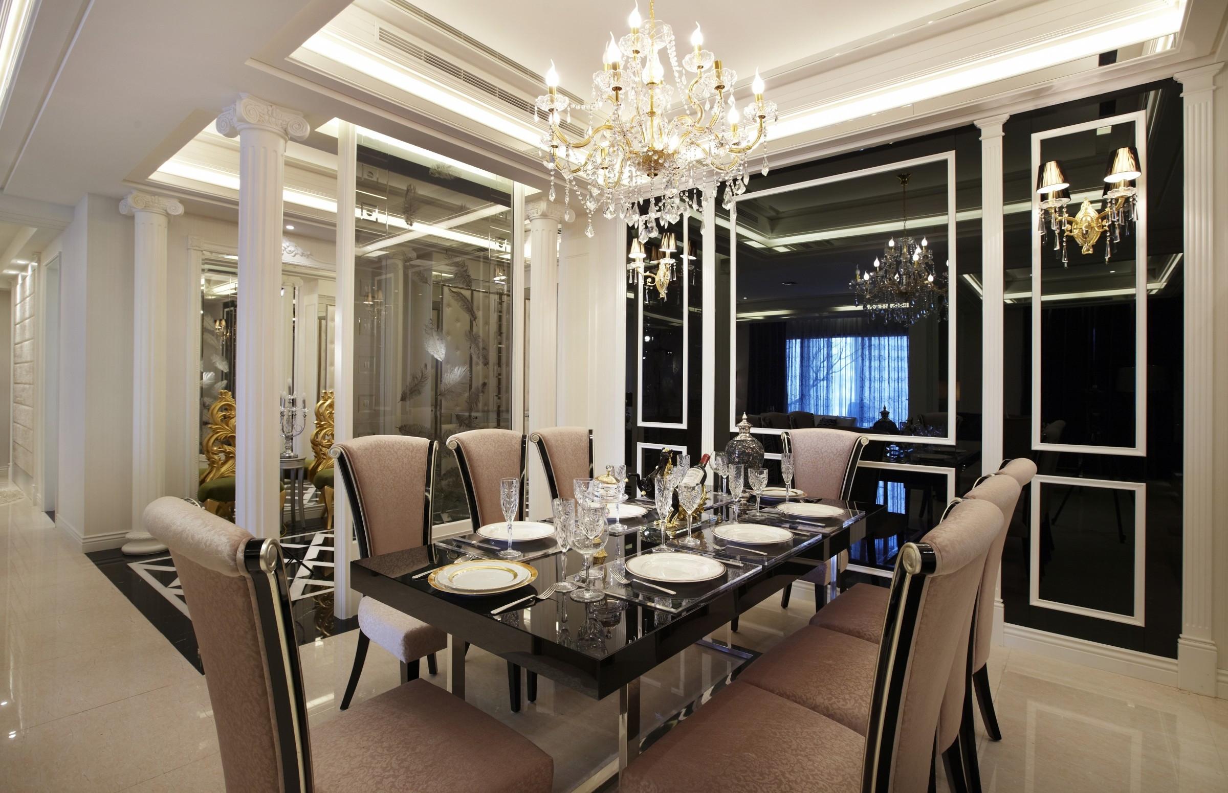 混搭 别墅 白领 收纳 旧房改造 80后 小资 餐厅图片来自北京紫禁尚品国际装饰kangshuai在鲁能泰山7号别墅的分享