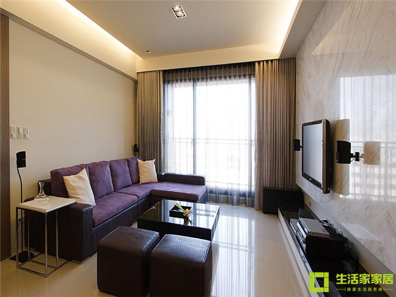 简约 白领 80后 小资 现代简约 生活家家居 客厅图片来自天津生活家健康整体家装在府上和平 现代简约的分享