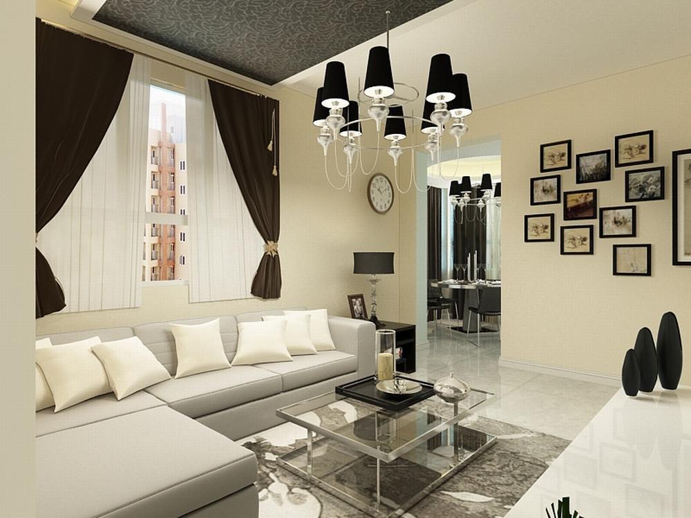 客厅图片来自阳光力天装饰在简约  天大北五村  91㎡的分享