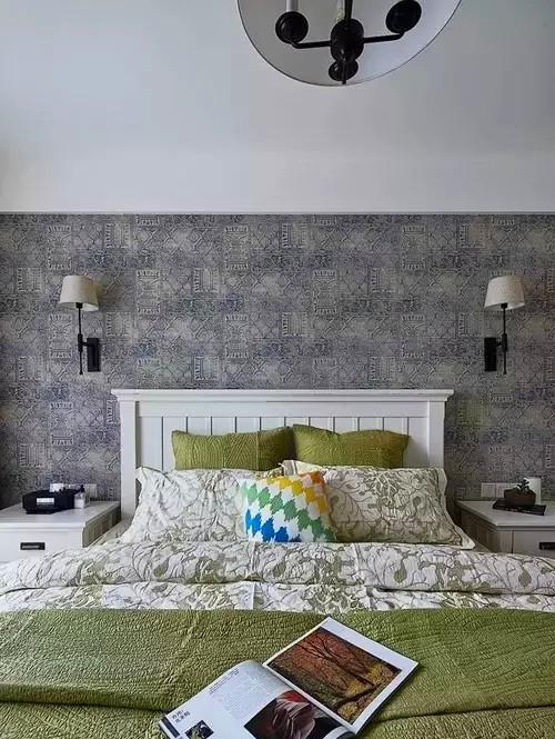 二居 混搭 两居 红杉 装修 设计 卧室图片来自高度国际装饰宋增会在红杉一品83㎡文艺混搭的分享