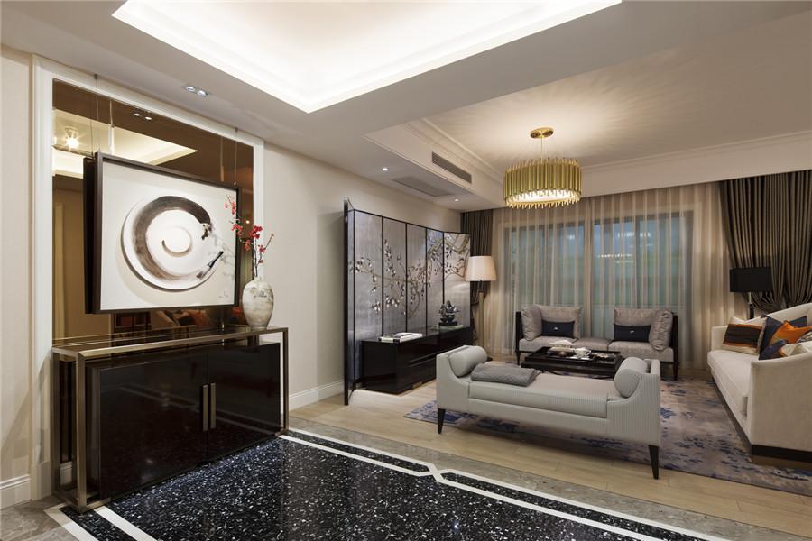 三居 白领 旧房改造 收纳 80后 小资 舒适 温馨 高富帅 客厅图片来自fy1831303388在彩叠园新中式的分享
