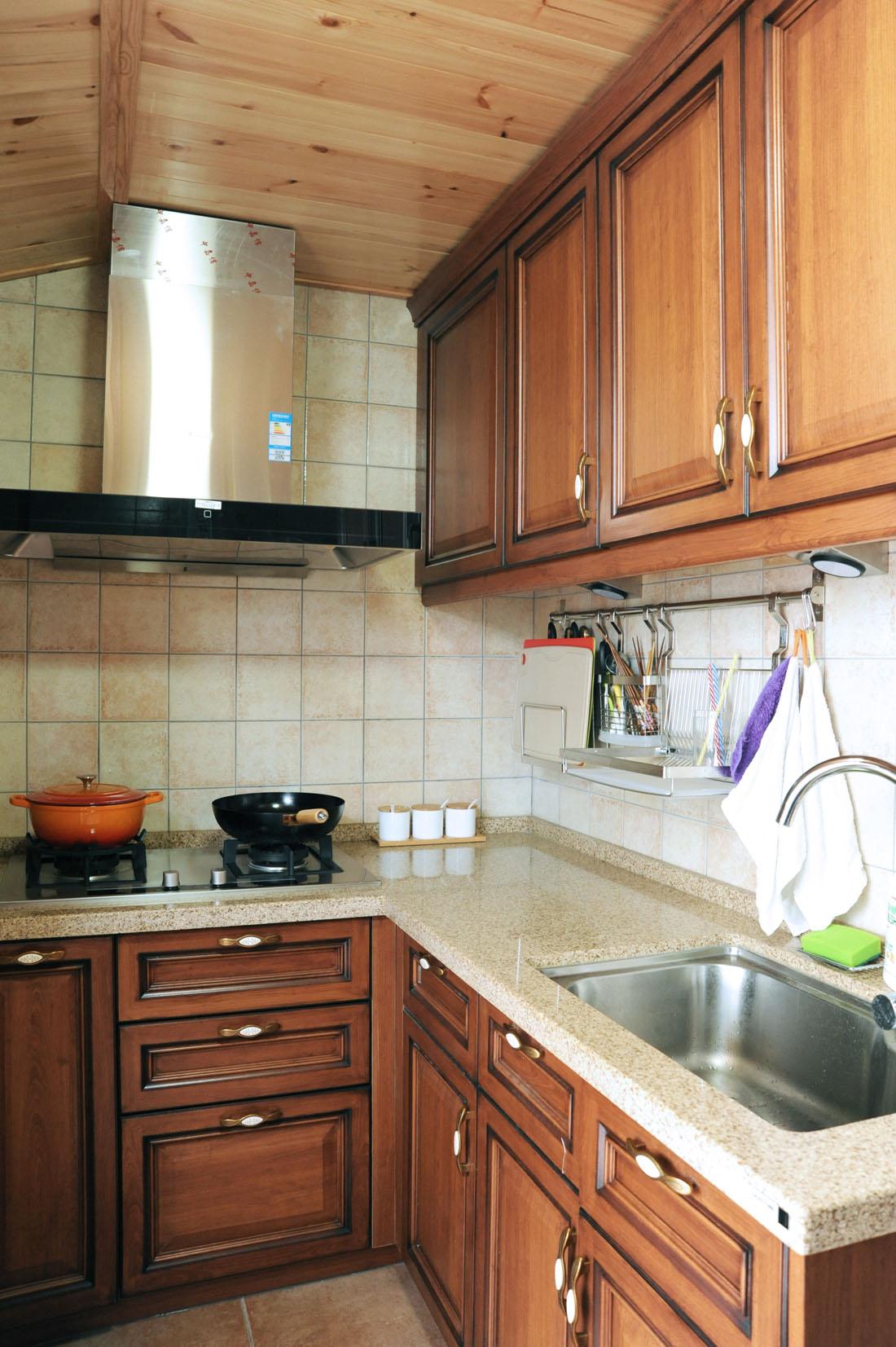 三居 美式 厨房图片来自徐春龙设计师在美丽传说的分享