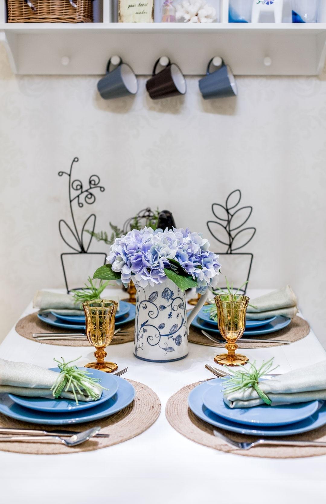 田园 二居 餐厅图片来自今朝装饰张智慧在安慧里90平田园风格的分享