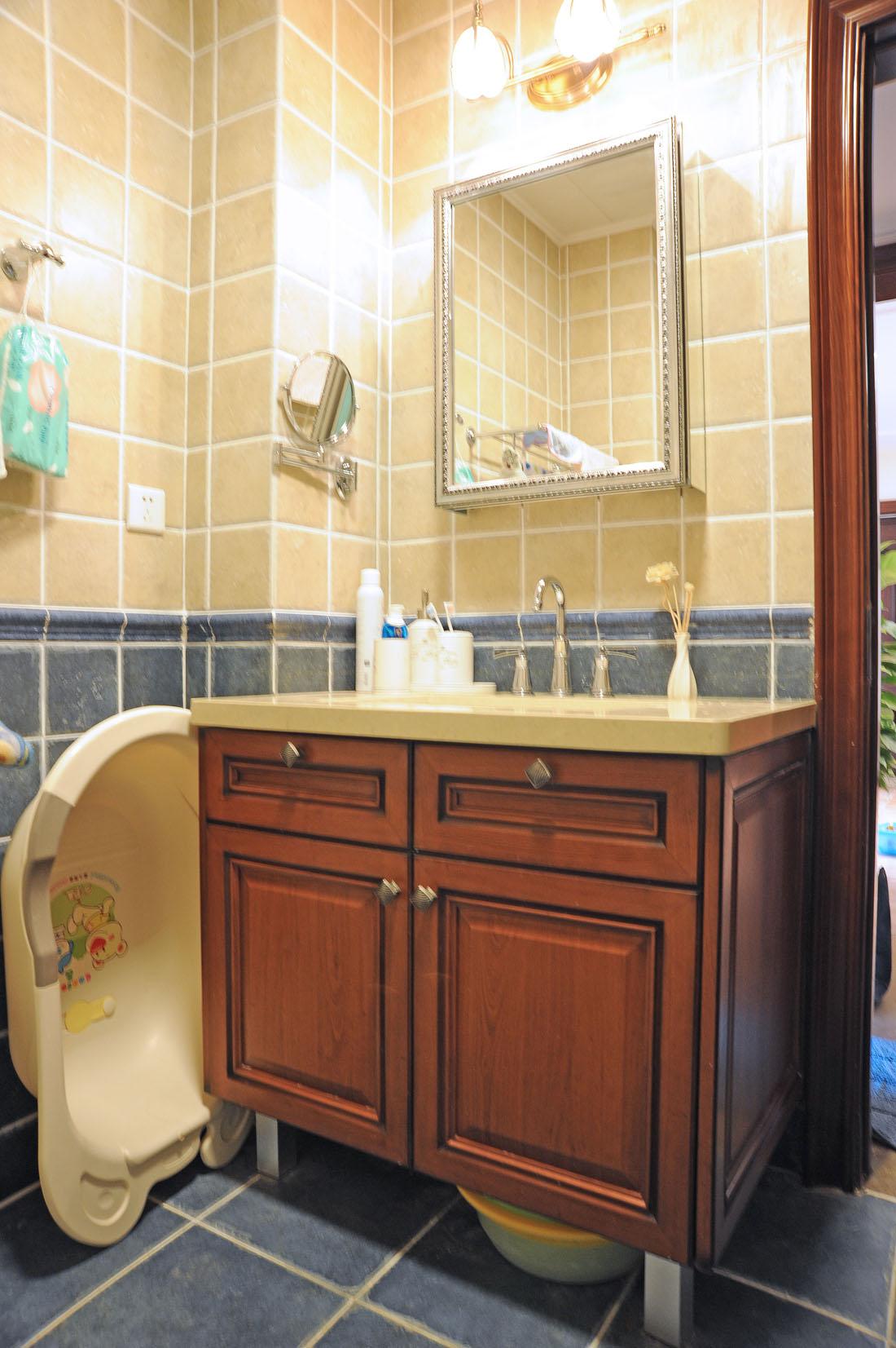 三居 美式 卫生间图片来自徐春龙设计师在美丽传说的分享