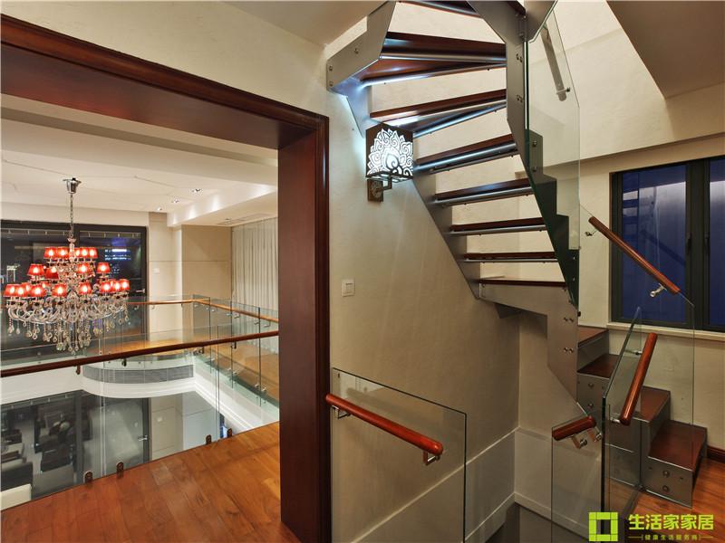 简约 白领 收纳 80后 小资 生活家家居 现代简约 楼梯图片来自天津生活家健康整体家装在王府壹号 现代简约的分享