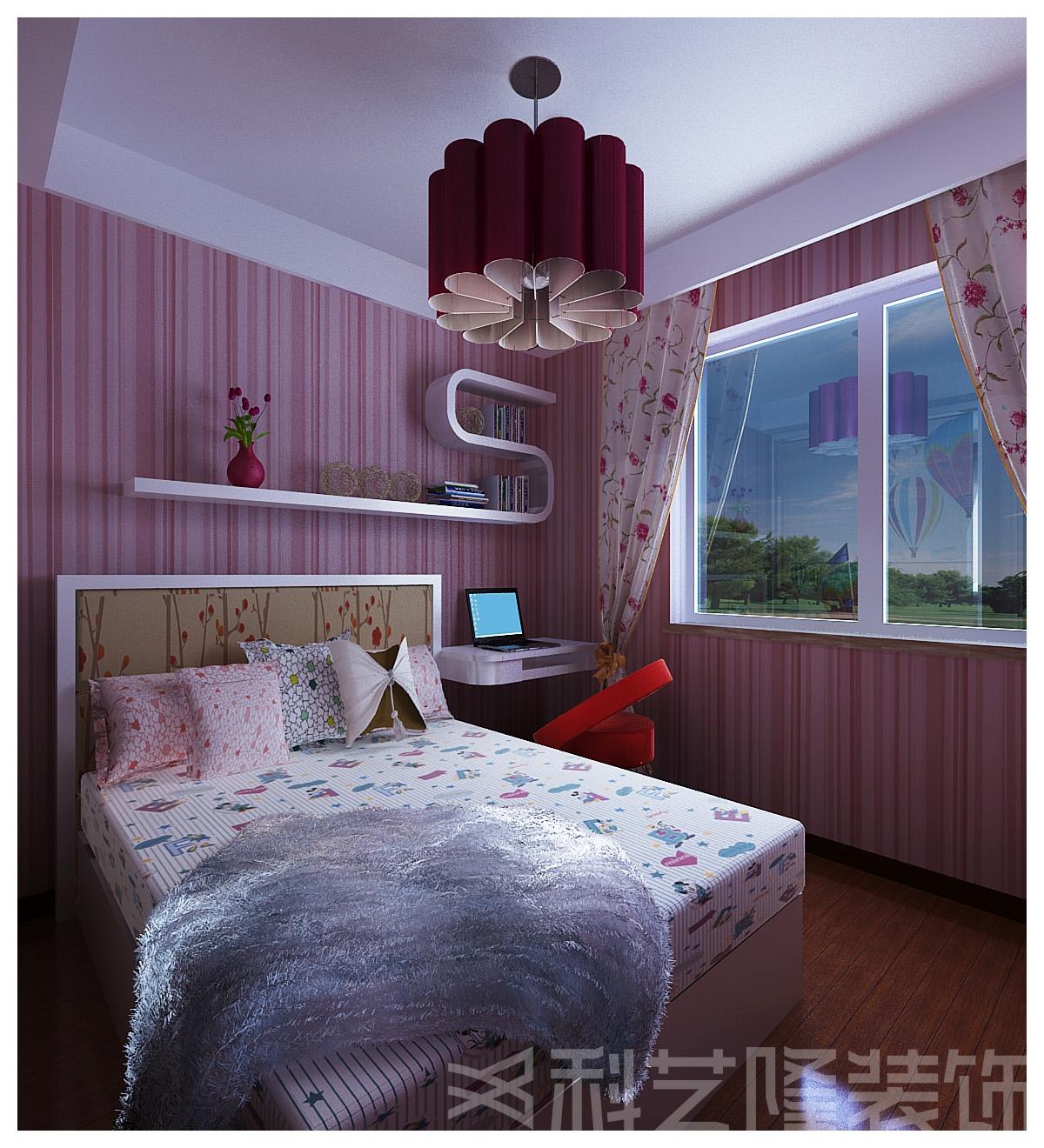 卧室图片来自天津科艺隆装饰在融创中心的分享