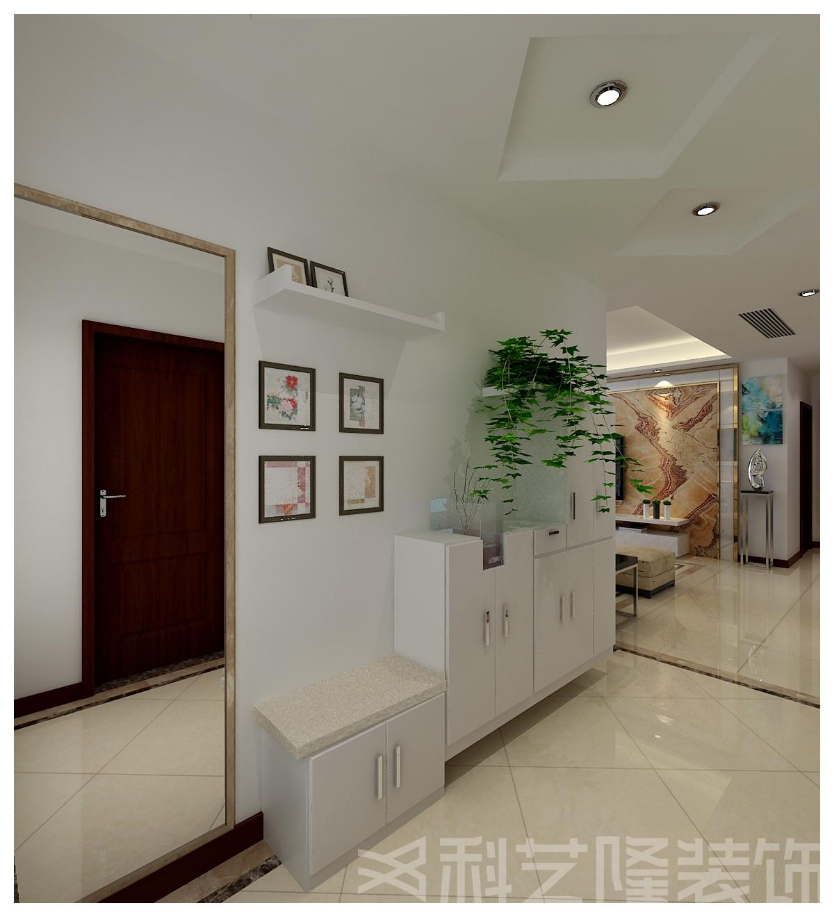 玄关图片来自天津科艺隆装饰在融创中心的分享