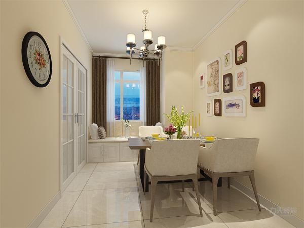 餐厅处在一个区域里,烹饪和用餐变得更加方便。