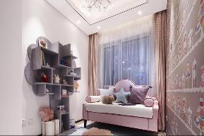 北欧 收纳 旧房改造 80后 小资 儿童房图片来自北京轻舟幸福亿家装饰晶晶在94平北欧混搭的分享