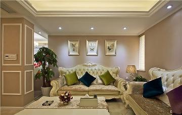 130平公寓欧式风格
