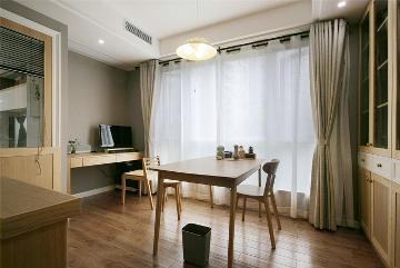 甘泉苑两室两厅84平日式风格