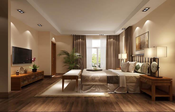 欧式 四居 家装 室内设计 别墅设计 卧室图片来自张邯在高度国际-中粮祥云2的分享