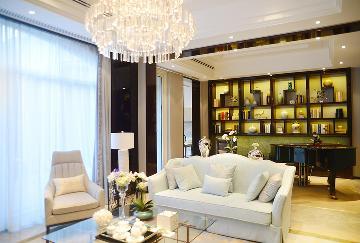紫禁壹号院新中式别墅设计案例