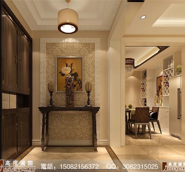 保利锦湖林语门厅细节效果图---成都高度国际装饰设计