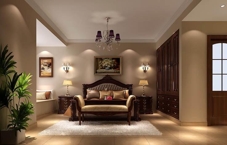 欧式 三居 家装 室内设计 卧室图片来自张邯在高度国际-御翠尚府 9的分享