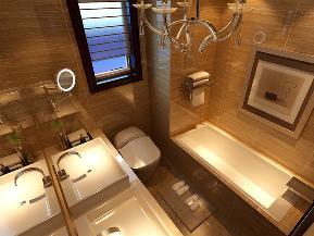 简约 欧式 三居 温馨 典雅 卫生间图片来自tjsczs88在温馨典雅的简约欧式风格的分享