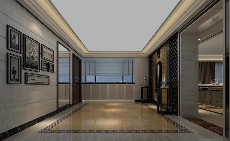 四居 现代 毛坯 居众装饰 玄关图片来自用户1252123063在现代风格尽显居家大气的分享