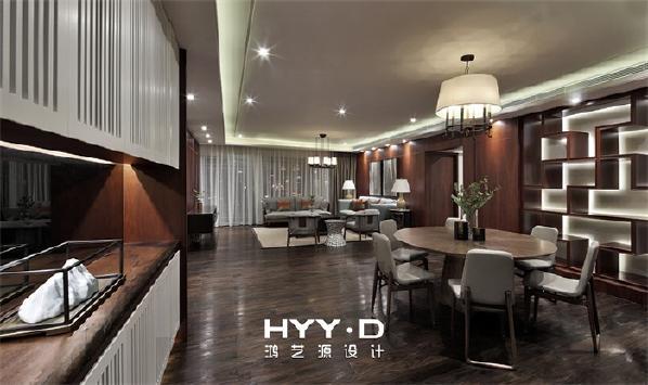 客餐厅 客厅、餐厅、处于一个开放式空间之下,显得宽敞通透,天花上筒灯的巧妙分隔,让功能区清晰也更富有层次。