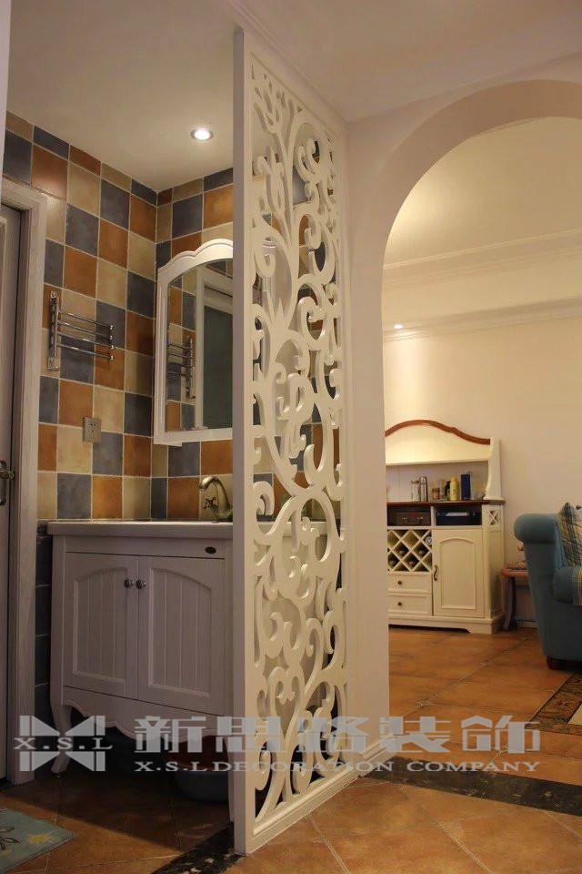 地中海 三室 温馨 风格 设计 家装 80后 卫生间图片来自新思路装饰客服在融创伊顿豪庭的分享
