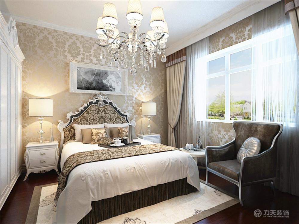 卧室图片来自阳光力天装饰在欧式   金地紫云轩  110平米的分享