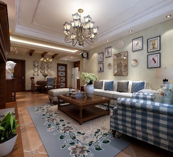 其实美式装修风格,最关键的元素就是色彩的搭配,只要家装色彩搭配得好,打造美式装修风格的家易如反掌。