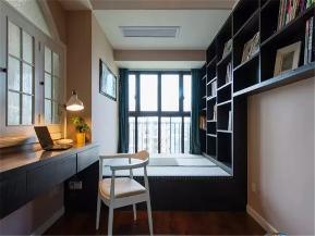 简约 现代 三居 白领 收纳 小资 书房图片来自沙漠雪雨在140平米大气舒适现代简约三居室的分享