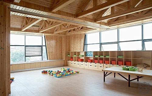 其他图片来自谢辉室内定制设计服务机构在凯星幼儿园的分享