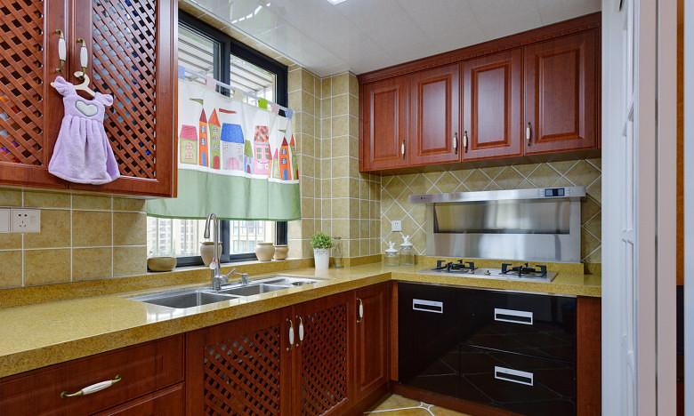 厨房图片来自家装大管家在拒绝平庸 168平美式休闲混搭复式的分享
