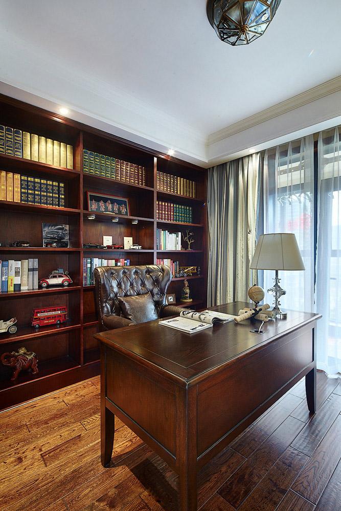 美式 书房图片来自安豪装饰在科大花园——美式风格的分享