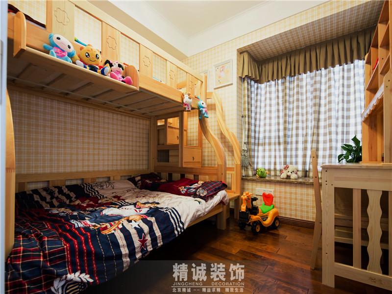 三居 别墅 后现代风格 新房 儿童房图片来自北京精诚兴业装饰公司在上谷水郡的178平的三居室的分享