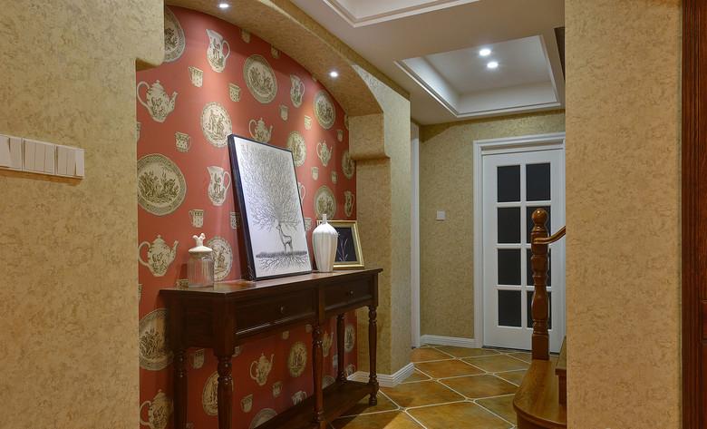 客厅图片来自家装大管家在拒绝平庸 168平美式休闲混搭复式的分享