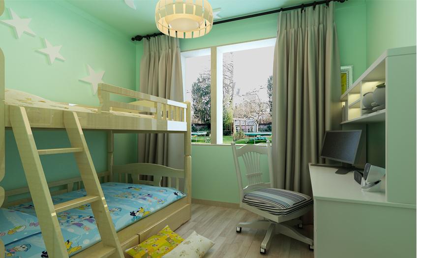 梵客家装 装修设计 两居设计 天津装修 新房装修 儿童房图片来自天津梵客家装实景体验馆在88平两居室|和苑小区简约设计的分享