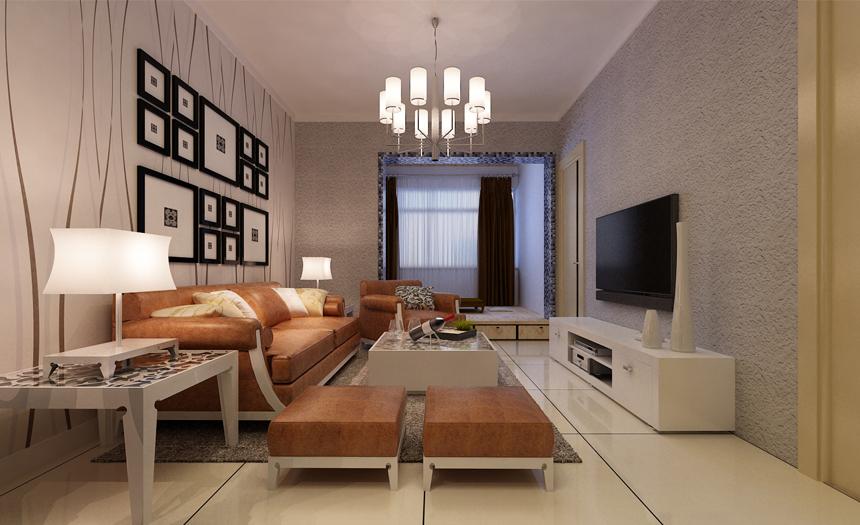 梵客家装 装修设计 两居设计 天津装修 新房装修 客厅图片来自天津梵客家装实景体验馆在88平两居室 和苑小区简约设计的分享