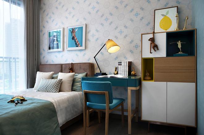 简约 三居 小资 卧室图片来自广州泥巴公社装饰在现代宜家.远洋天骄的分享