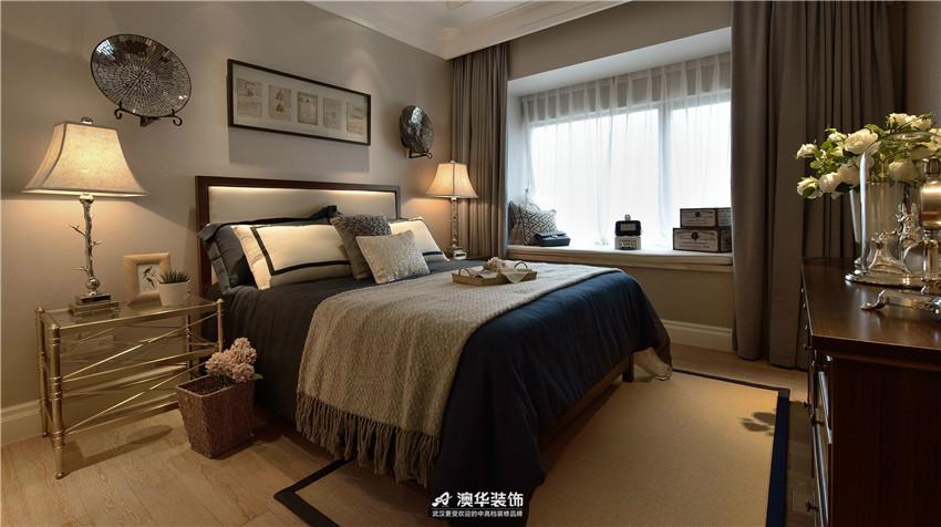 卧室图片来自澳华装饰有限公司在葛洲坝城市花园 · 简约高雅格调的分享