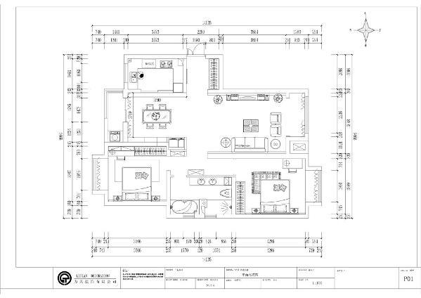 本案为境界梅江2室2厅1厨1卫92㎡,该户型规矩方正,南北通透,光线充足,空间合理,可以为住户创造舒适的住房体验。