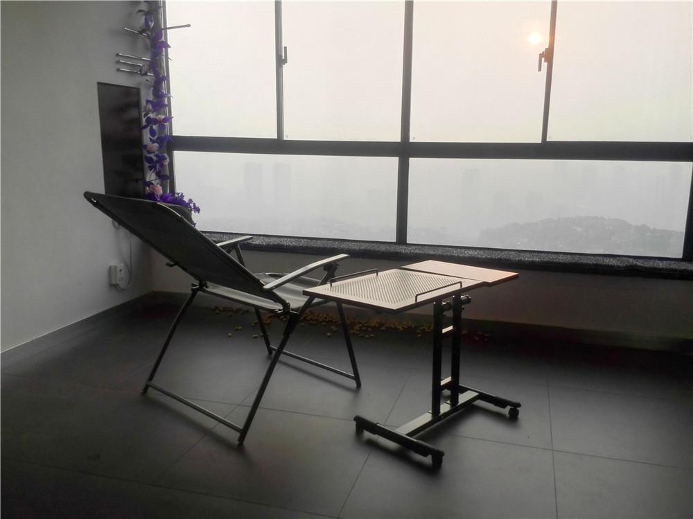 loft 三居 清水房 软装 设计 阳台图片来自新思路装饰客服在复地上城的分享