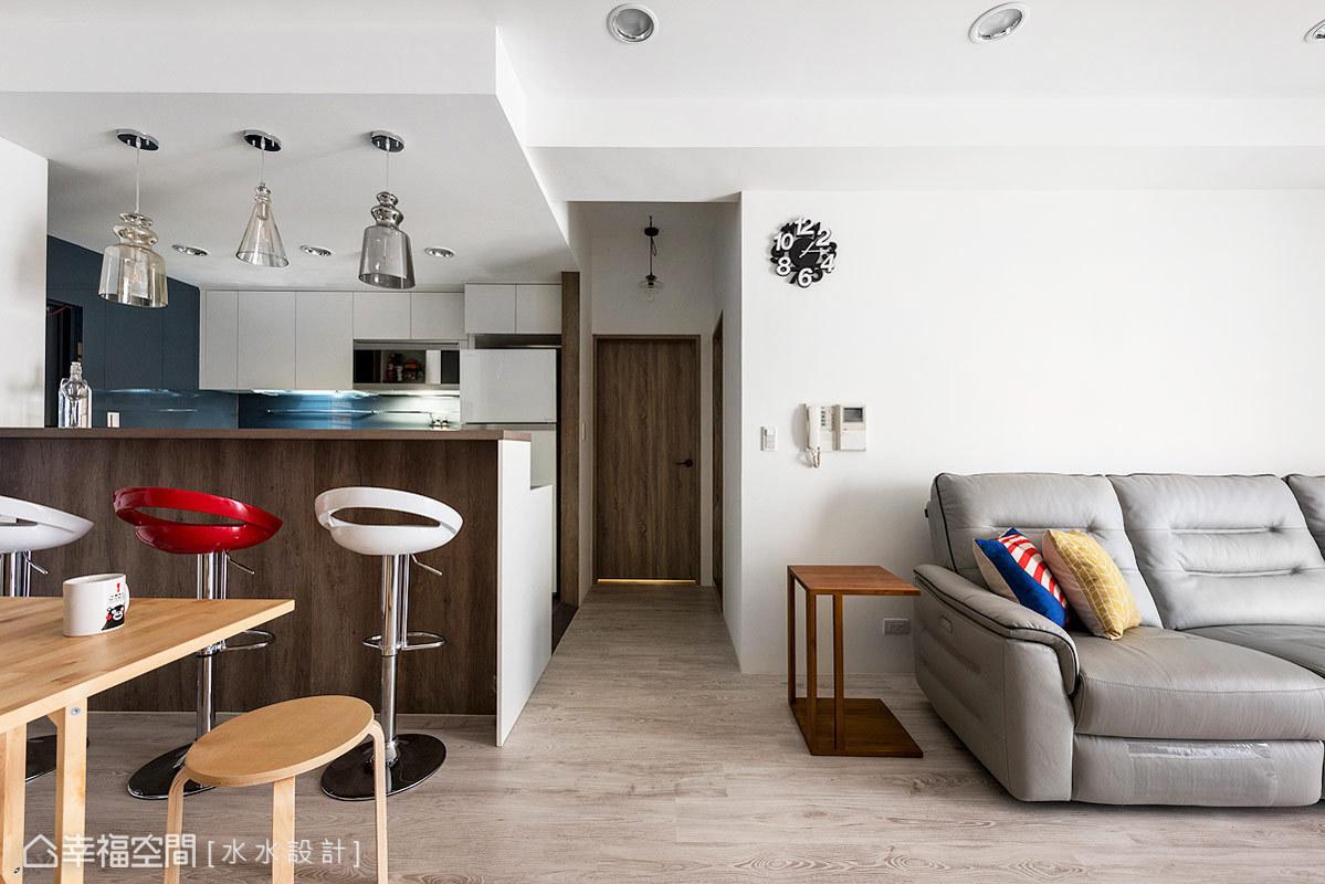 二居 休闲 简约 收纳 旧房改造 餐厅图片来自幸福空间在绘制20年老屋的幸福轮廓的分享