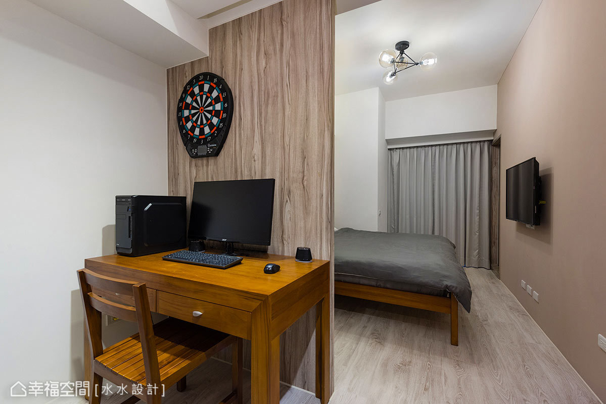 二居 休闲 简约 收纳 旧房改造 卧室图片来自幸福空间在绘制20年老屋的幸福轮廓的分享