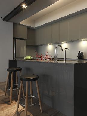 三居 中式 混搭 80后 益圆木门 木门 实木复合门 厨房图片来自益圆木门集团在新中式只适合老人?这一套很时尚的分享