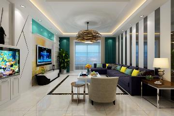 榆次青草园三居室装修-140平米
