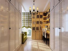 简约 现代 二居 白领 收纳 小资 书房图片来自沙漠雪雨在108平米现代简约温馨两居室的分享