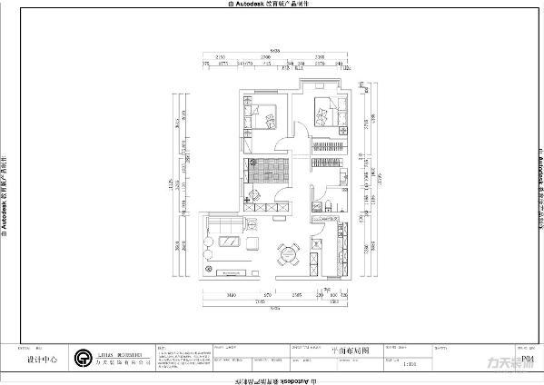 从入户门开始,入户之后,是一个长长的矩形。在左面是客厅,客厅与餐厅相互联系,在餐厅旁边是厨房的位置。