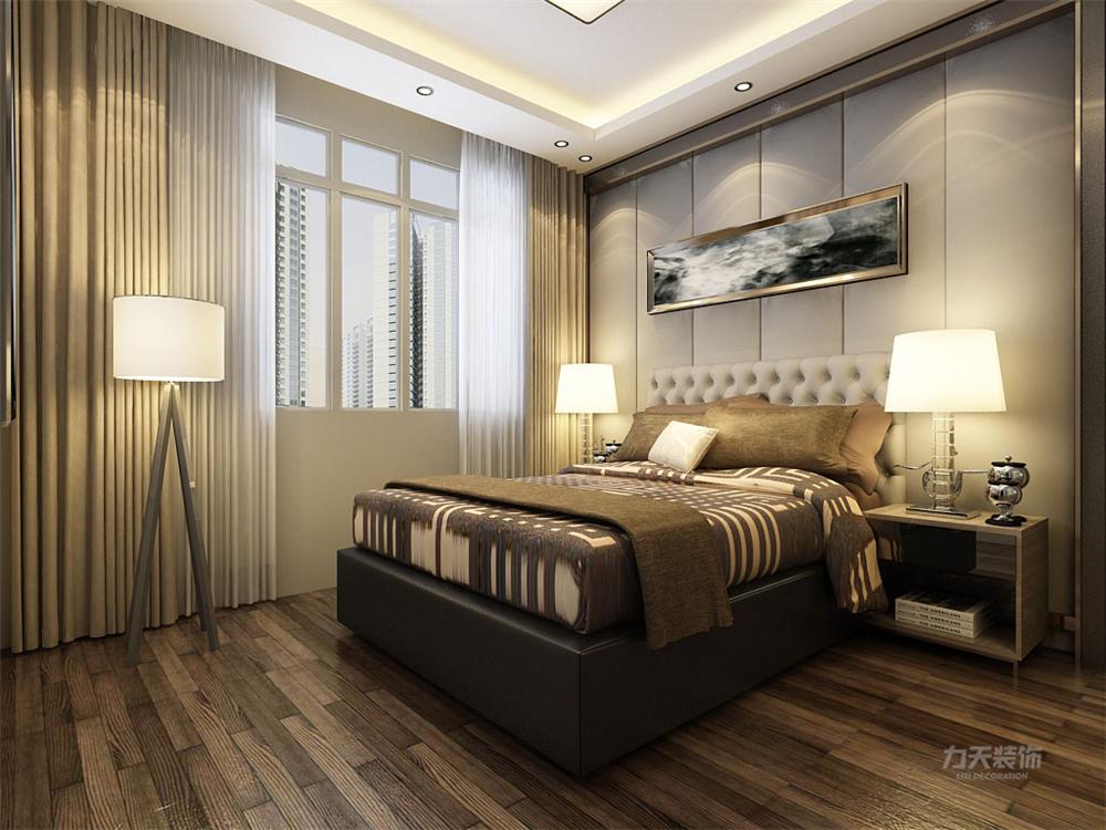 简约 收纳 80后 卧室图片来自阳光放扉er在力天装饰-喜蜜湾72.86㎡的分享