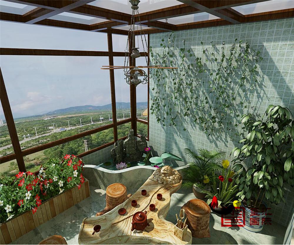 美式 三居 玺汇国际 收纳 阳台图片来自河北玺汇国际装饰公司在盛邦大都会139平美式的分享