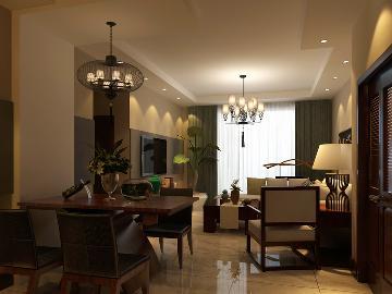 两居室现代风格装修案例