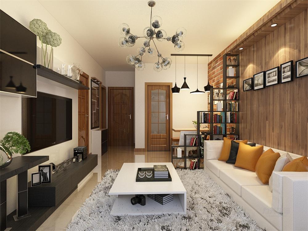 简约 收纳 80后 客厅图片来自阳光放扉er在力天装饰-喜蜜湾72.86㎡的分享