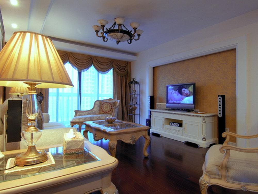 简约欧式 二居 温馨 浪漫 客厅图片来自tjsczs88在温馨浪漫,甜蜜简欧的分享
